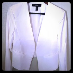 Off white chick jacket.  Great with jeans'